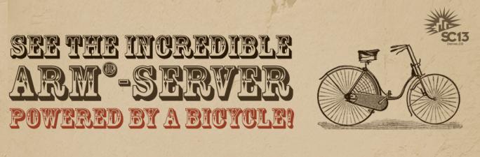 Viridis - Der ARM-Server von Boston, lässt sich sogar mit einem Fahrrad betreiben.