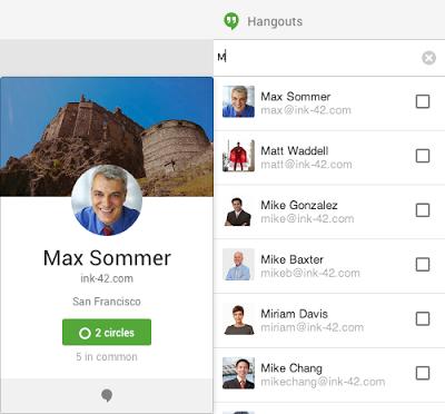 Neue Funktionen sollen Google+ Hangouts für die Anwendung im Unternehmen attraktiver machen. Quelle: Google