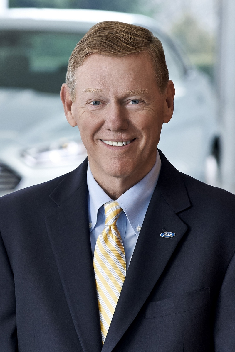 Alan Mulally, Präsident und Chief Executive Officer der Ford Motor Company (Bild: Ford)