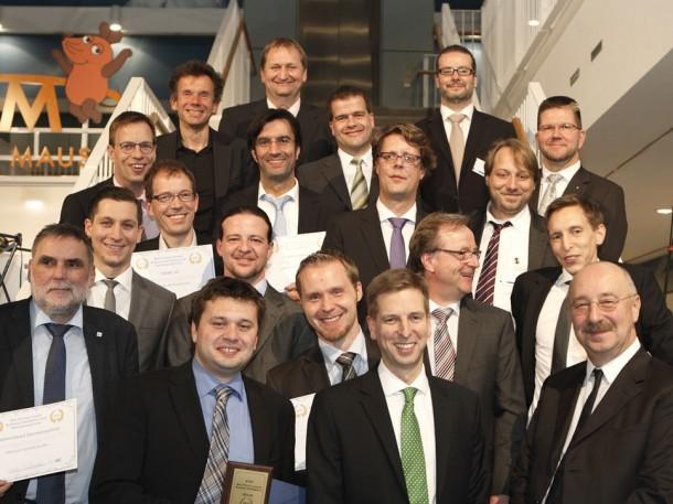 Die Gewinner des Best Practice Awards auf dem BARC BI Kongress 2013. Quelle: Joachim Wendler/BARC