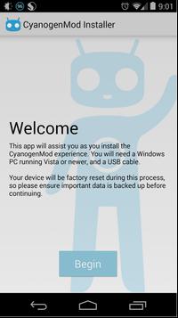 Ein neuer Installer, der jetzt über Google Play verfügbar ist, soll die Installation von CyanogenMod vereinfachen. Quelle: Cyanogen