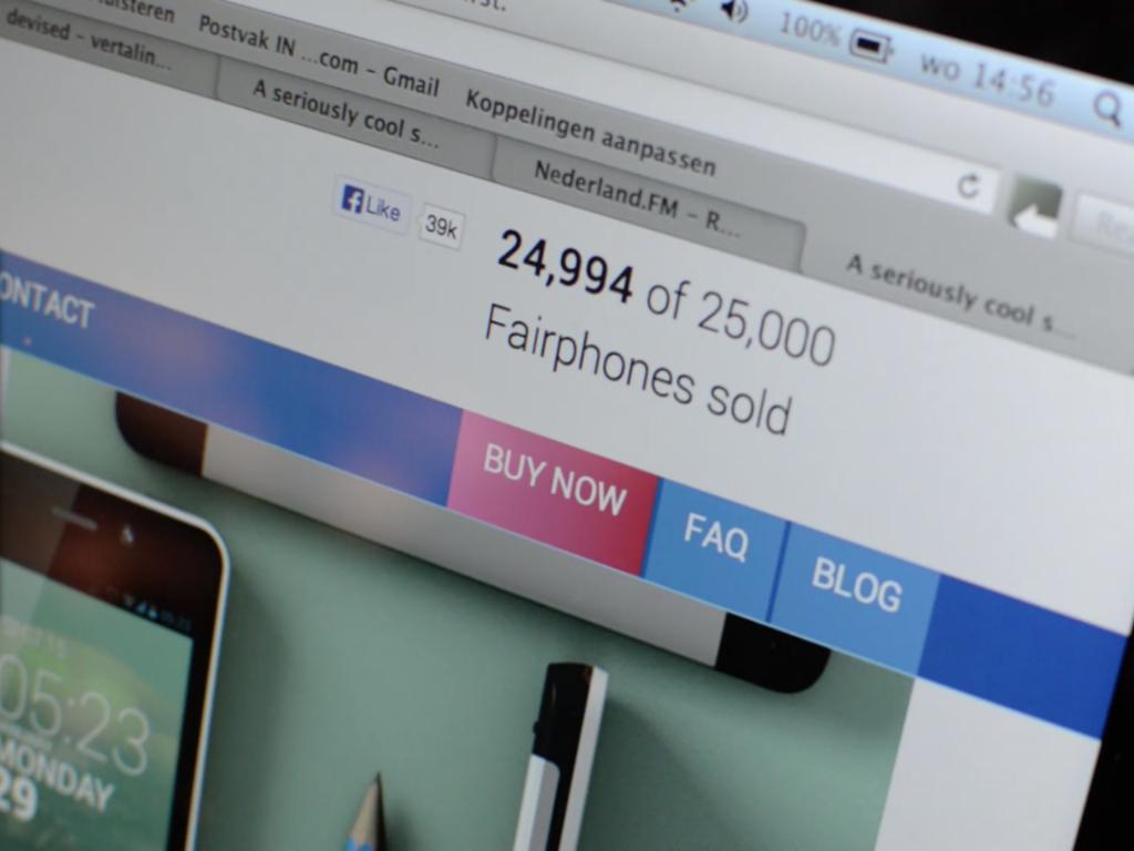 Ziel erreicht: Fairphone verbucht 25.000 Käufer