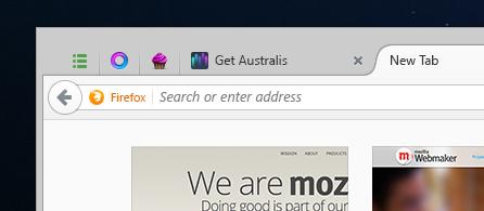 """Mozilla hat auch die Seite """"Neuer Tab"""" überarbeitet (Bild: Mozilla)."""