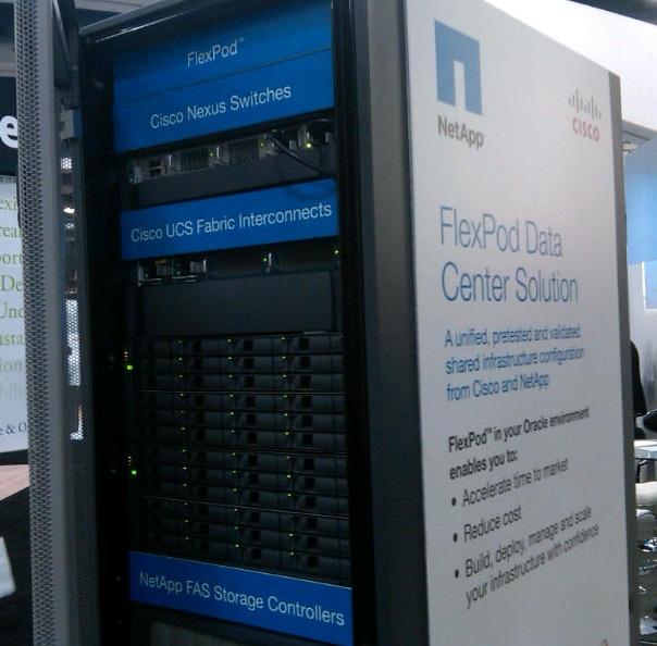 gemeinsamen Rechenzentrumslösung FlexPod neue Funktionen beschert. Quelle: Cisco