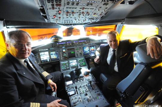 Willkommen an Board: Die FCC will das Handy-Verbot während Flügen überdenken.