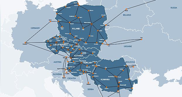 Die GTS-Gruppe ist als Telekommunikationsdienstleister in Zentral- und Osteuropa aktiv (Bild: GTS).