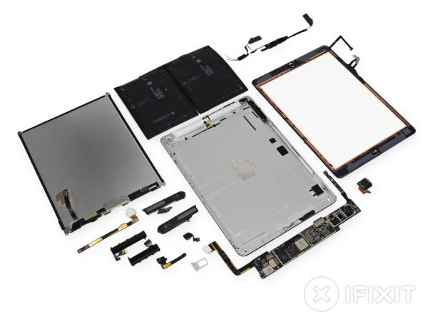 iPad Air zerlegt (Bild: iFixit)