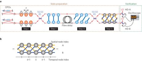 Auf diese Weise versuchen australische Forscher normalen Menschen das erfolgreiche Konzept ihres Quanten-Super-Cluster nahe zu bringen. Quelle: Australian National University of Canberra