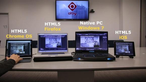 OBRX.js ermöglicht es, beispielsweise eine Grafiksoftware im Browser auf unterschiedlichen Geräten wie Laptops und Tablets auszuführen (Bild: Mozilla).