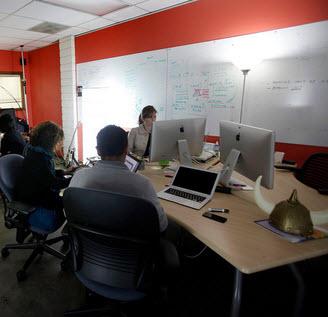 SAP AppHaus in Los Altos. Fotos der neu eröffneten Räume in Heidelberg stehen bislang leider nicht zur Verfügung. Quelle: Forrester.