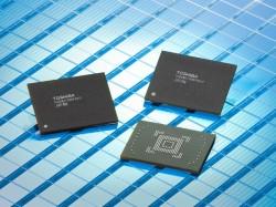 MRAM-Speicherbausteine von Toshiba (Bild: Toshiba)