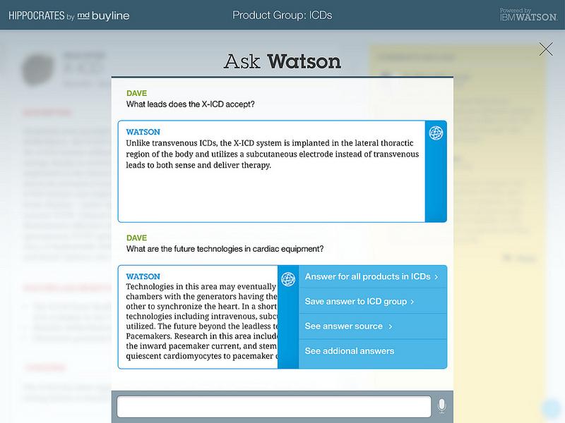 Die Künstliche Intelligenz Watson steht jetzt als Entwicklungsplattform aus der Cloud zur Verfügung. (Bild: IBM)