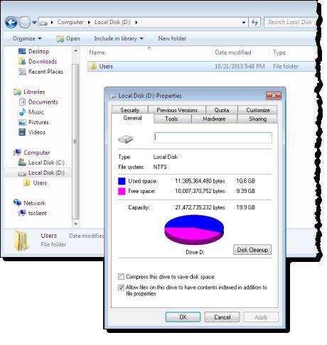 Nutzer von Amazon WorkSpaces bekommen wahlweise 1 oder 2 vCPUs, 3,75 oder 7,5 GB Arbeisspeicher und zwischen 50 und 100 GB Storage. Quelle: Amazon