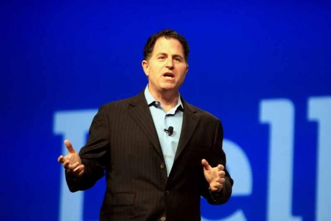 Michael Dell hat sich den Konkurrenten EMC gesichert. Wieder einmal sucht er dafür die Hilfe von Finanzinvestoren. (Bild: Harald Weiss)