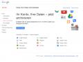 13 Produkte aus dem Google-Portfolio können jetzt in einem Archiv gesichert werden. Mit Gmail soll in den nächsten Wochen ein weiteres hinzukommen. Screenshot: ZDNet.de