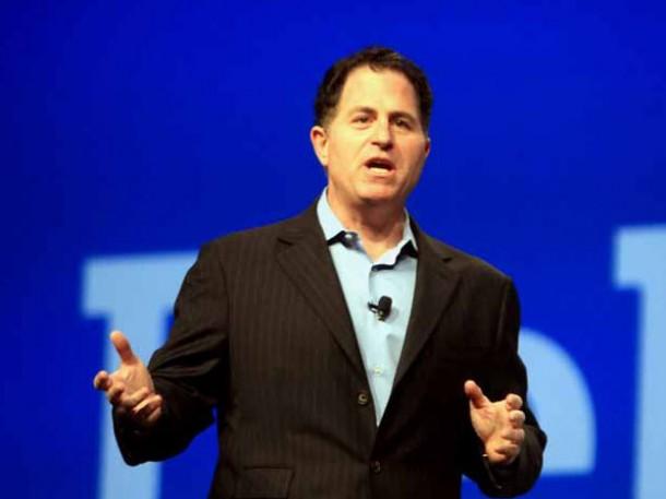"""""""Als Aktiengesellschaft waren bei Dell einfach zu viele Hände am Lenkrad"""", erklärt Dell. Daher hätten sich auch viele Reformen verschleppt.  Quelle: H. Weiss/New York Reporters"""