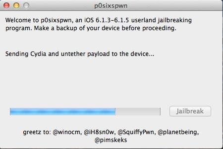 Im Test funktioniert der Jailbreak mit p0sixpwn nur, wenn das Gerät zuvor komplett zurückgesetzt wurde. Quelle: ZDNet.de