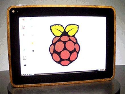 Tablet auf Basis eines Raspberry Pi: Das PiPad. (Bild: Michael Castor)
