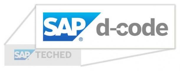 Aus SAP TechEd wird d-code.