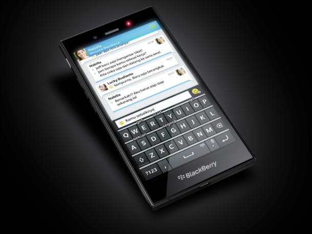 Mit dem neuen BlackBerry Z3 zielt der Hersteller auf neue Märkte. Das Gerät soll zunächst in Indonesien auf den Markt kommen. Quelle: BlackBerry