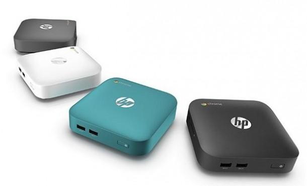HPs Chromebox gibt es in unterschiedlichen Farben. Quelle: HP