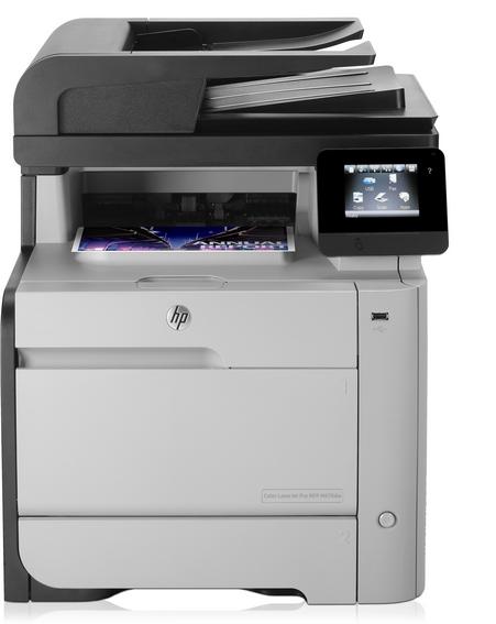 Der HP LaserJet Pro M476 ist der erste Drucker mit Support für das Mopria-Plug-in, das kabelloses Drucken aus Android-Geräten heraus deutlich vereinfacht. Quelle: HP