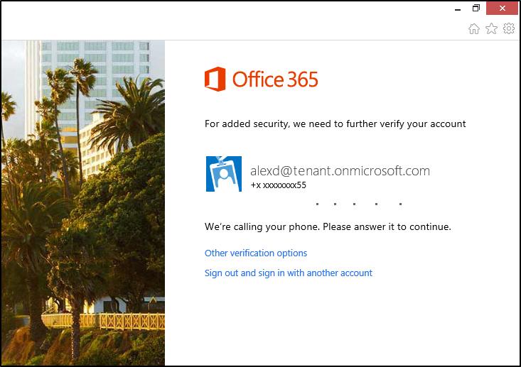 Künftig können alle Office-365-Abonnenten ohne Mehrkosten Zwei-Faktor-Authentifizierung nutzen (Bild: Microsoft).