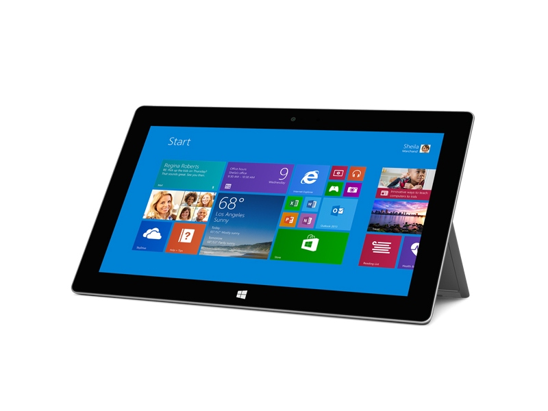 Microsoft-Tablet Surface 2 (Bild: Microsoft)