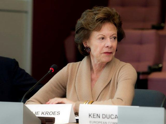 """EU-Kommissarin Neelie Kroes: """"Europa muss eine wichtige Rolle spielen, wenn es darum geht, zu bestimmen, wie das künftige Internet aussehen wird."""""""