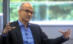 CEO Satya Nadella ist seit über 24 Jahren bei Microsoft, davon inzwischen etwas über zwei Jahre als CEO (Bild: Microsoft)