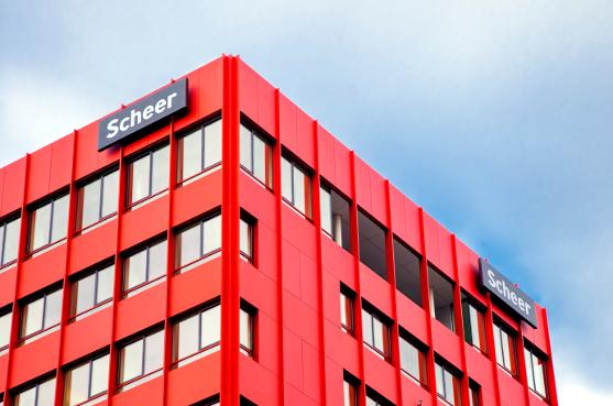 Der Tower der Scheer Group, einem IT-Cluster. Jetzt gründet August-Wilhelm Scheer das AWS Institut für digitale Produkte und Prozesse. Quelle: Scheer Group