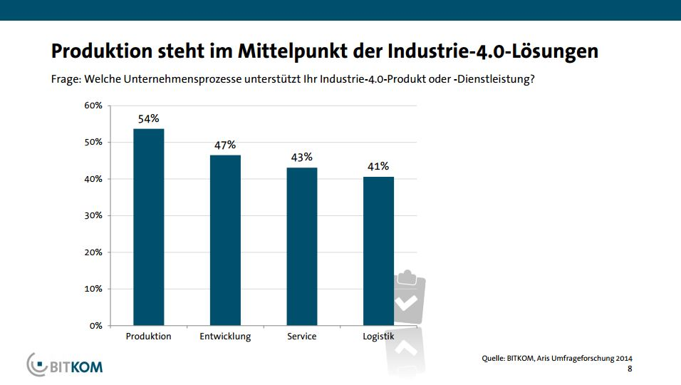 Themen wie die Digitalisierung oder Industrie 4.0 sorgen derzeit für einen Aufwind in der Branche. (Bild: BITKOM)