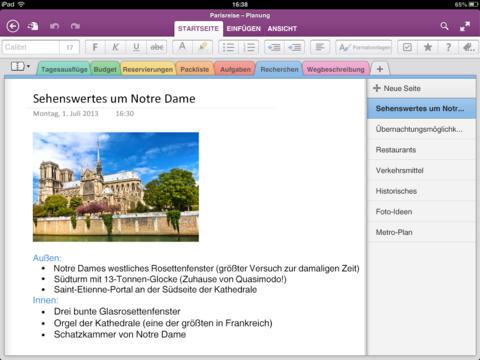 OneNote ist ab sofort auch für Mac OS Maverics verfügbar. Quelle: Microsoft