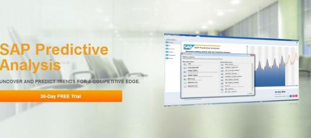 Eine der Anwendungen, die es über den neuen HANA Marketplace zu beziehen gibt ist eine Lösung für Predictive Analytics. Quelle: SAP
