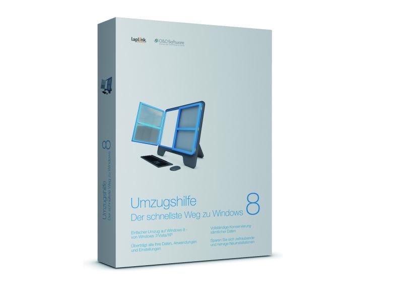 Umzugshilfe Windows 8 Packshot (Bild: O&O Software)