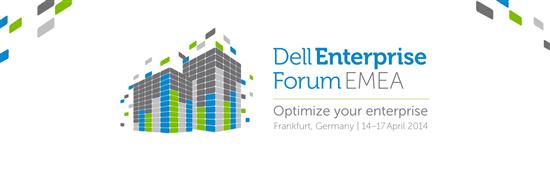 Dell stellt auf dem Enterpise Forum in Frankfurt neue Sicherheitslösungen vor. Quelle: Dell