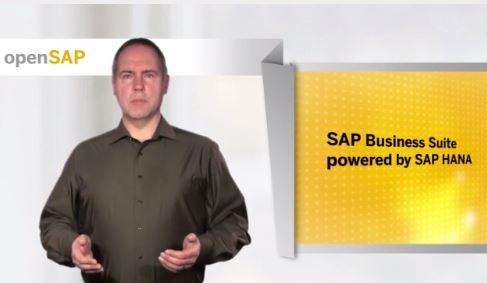 SAP startet einen kostenlosen, auf vier Wochen angelegten Online-Kurs (MOOC) zu Business Suite powered by HANA. Screenshot: silicon.de