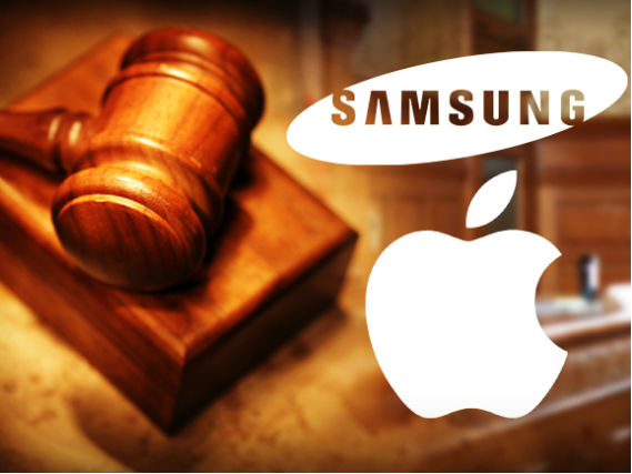 Apple gegen Samsung (Bild: CNET)