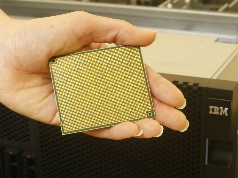 Power8-Chip für die kommende Power-Server-Generation von IBM (Bild: IBM)