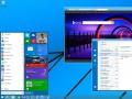 Windows-Chef Terry Myerson hat einen ersten Entwurf des geplanten Startmenüs für Windows 8.1 gezeigt (Bild: Microsoft).
