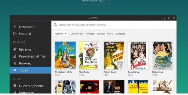cuevana.tv und Popcorn Time bieten vermeintliches Streaming an. Letztlich aber sorgen diese Anwendungen für ein Filesharing. screenshot: silicon.de