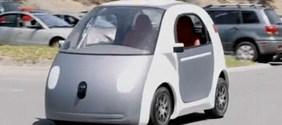 Das selbstlenkendes Auto von Google. (Bild: Google)