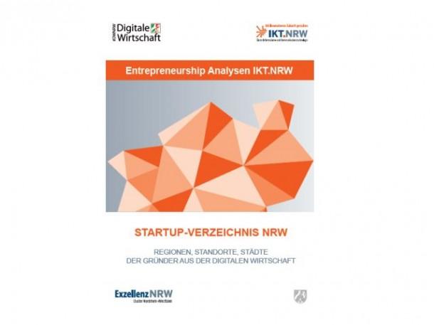 Das Start-up-Verzeichnis NRW vom  Lehrstuhl für E-Business und E-Entrepeneurship listet rund 400 Unternehmensgründungen auf. Quelle: ITK-Cluster NRW)
