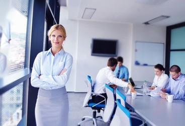 Business_Frau_Team