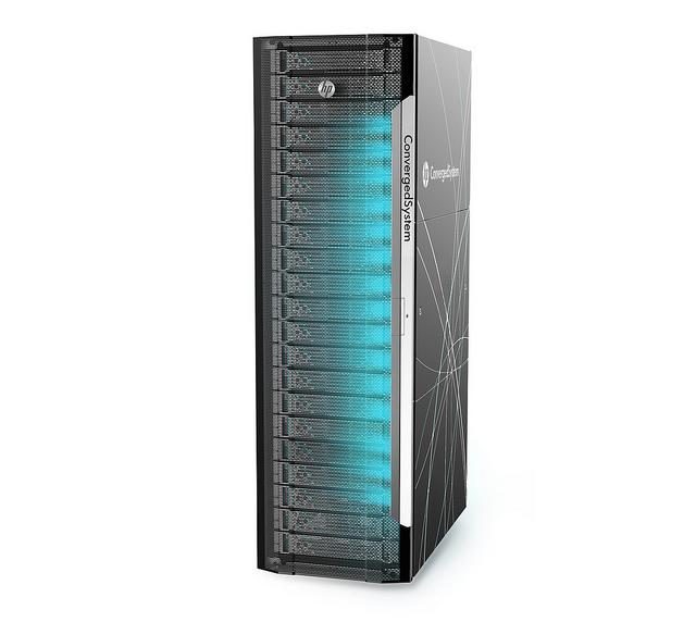"HP stellt mit dem ConvergedSystem 900 for SAP HANA einen ersten Ableger aus dem ""Project Kraken"" vor.  Quelle: HP"
