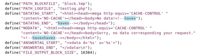 Auf infizierten Web-Servern ist Havex leicht zu entdecken. Quelle: F-Secure