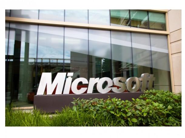 Microsoft_Zentrale_Schriftzug