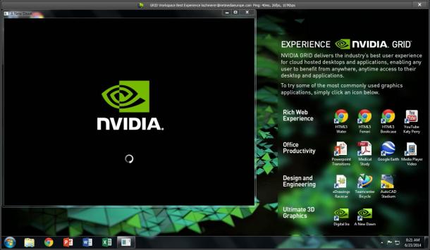 Mit Nvidia GRID Workspace bietet der Hersteller GPU-Beschleunigung in der Cloud (Screenshot: silicon.de)