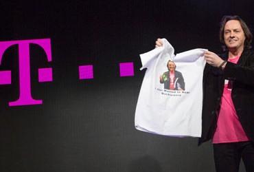 Eine großangelegte Werbekampagne bescher T-Mobile USA-CEO John Legere neue Kunden. Quelle: T-Mobile