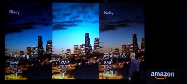 Amazon Fire Phone: Kamera im Vergleich zum Galaxy S5 und iPhone 5S